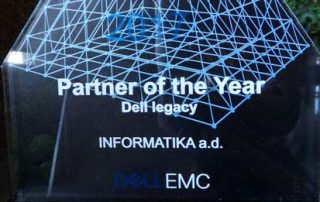 "Od kompanije Dell EMC Informatika dobila priznanje ""Partner of the Year"""