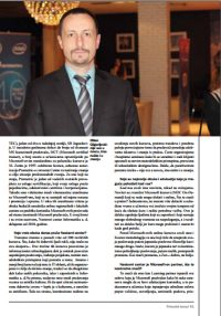 Intervju Milana Gligorijevića direktora Nastavnog centra Informatike za Privredni žurnal