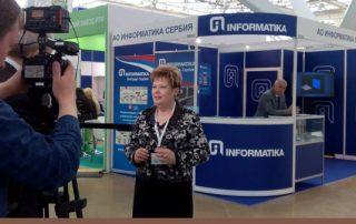 Informatika na Sajmu gumarstva u Moskvi
