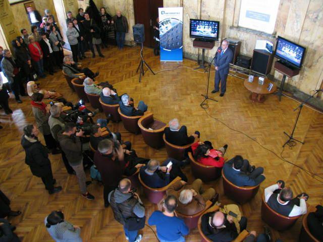 U Kamenoj Sali Radio Beograda i tom prilikom obeležen je 62. rođendan Radio Beograda 2